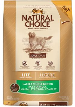 Amazon.com: Natural Choice Adult Lite Lamb And Whole Brown