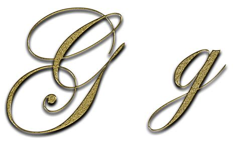 Carta G De Oro · Imagen Gratis En Pixabay