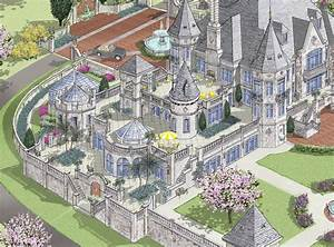 Modern Castle Style Homes images