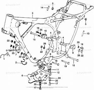 Honda Motorcycle Models With No Year Oem Parts Diagram For