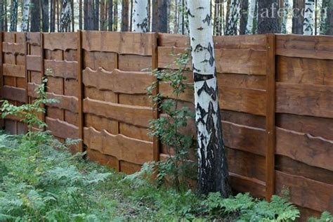 beautiful fence designs blending  materials  unique modern walls wood fence design