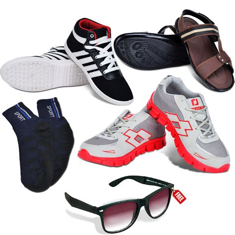 Schouw Foodware by Buy Ultimate Footwear Combo Free Foldable Sunglasses