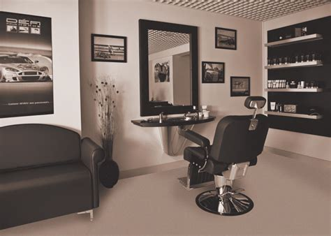 mobilier de coiffure et pour cap sur la barbe corner barber par coopéré biblond
