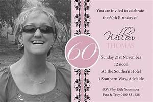 60th, Birthday, Invites, U2013, Bagvania, Free, Printable, Invitation