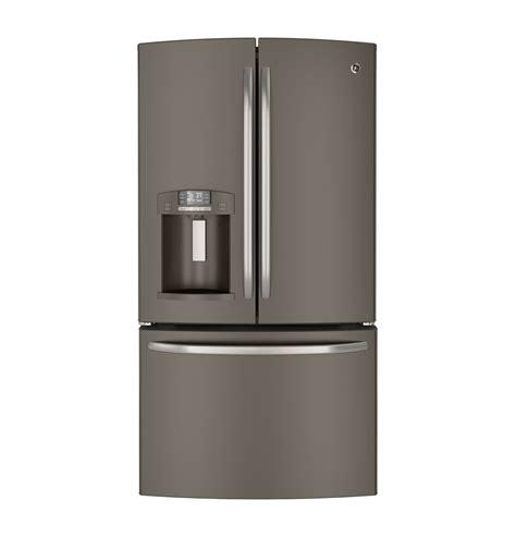 Water On Floor Under Refrigerator by Ge 174 27 7 Cu Ft French Door Refrigerator Gfe29hmees