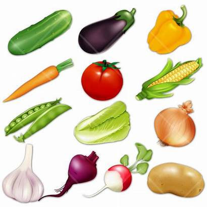 Vegetables Vegetable Clipart Cartoon Cliparts Animated Clip
