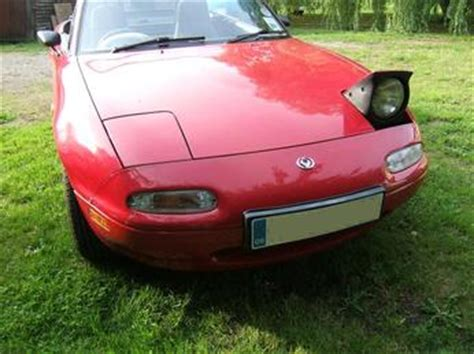 wink modification  popup headlights mazda mx  mk