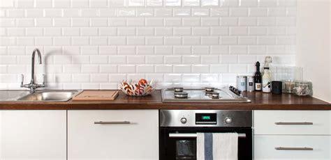 kitchen tile metro tile white reco surfaces alternative to tiling