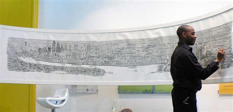 stephen wiltshires london panorama drawing  stephen wiltshire gallery