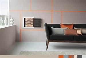 Wand Mit Streifen : wand streichen 37 ideen f r farbige wandgestaltung ~ Frokenaadalensverden.com Haus und Dekorationen