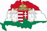 File:Kingdom of Hungary flag map.svg - Wikimedia Commons
