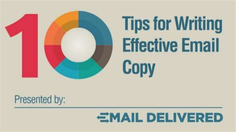 tips for writing an effective 10 tips for writing effective email copy