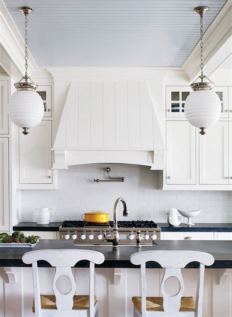 Beadboard Kitchen Ceiling  Cottage  Kitchen Sherwin