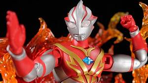 Ultra-Act Ultraman Mebius Mebius Burning Brave Review ...