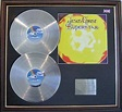 JESUS CHRIST SUPERSTAR - Double Platinum Disc and cover ...