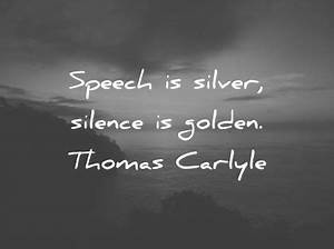 280 Amazing Sil... Silence Golden Quotes