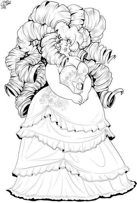 steven universe coloring pages rose quartz steven
