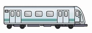 Subway train clipart side view - ClipartBarn