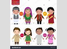 Kids Traditional Costume Afghanistan Bangladesh Pakistan