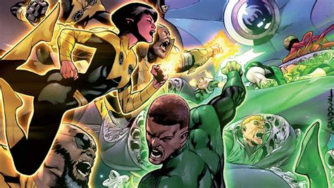 exclusive preview hal and the green lantern corps 9