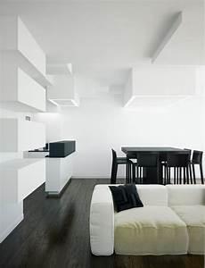 salon avec salle a manger 60 idees d39amenagment With salle À manger contemporaine avec objet decoratif a suspendre