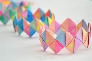 DIY Paper Crafts Tutorials DIY FOLDED BRACELETS ...