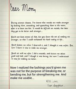 a letter to my mom the bookworm39s harbor With letter to mom to be
