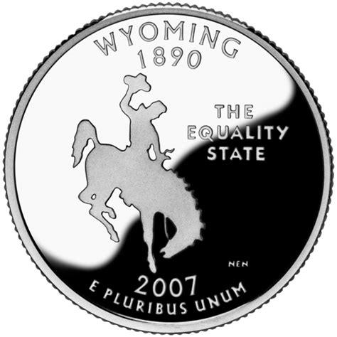 wyoming state quarter statescom