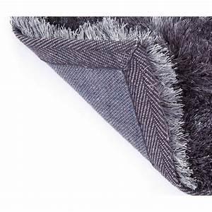 Tapis Long Poil : tapis gris poil long id es de d coration int rieure french decor ~ Teatrodelosmanantiales.com Idées de Décoration