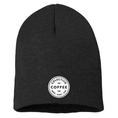Show off your brand's personality with a custom coffee bean logo designed just for you by a professional designer. Colectivo Coffee Embroidered Beanie | Colectivo Coffee
