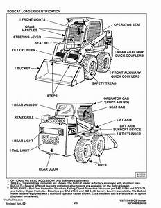 Instant Download Bobcat 763 Skid Steer Loader Repair Service Manual