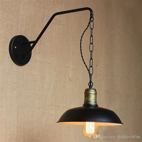 deco wall lights with glass shade black wrought iron