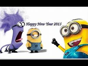"""Happy New Year 2015"" - Funny Minions - Animated 3D ..."