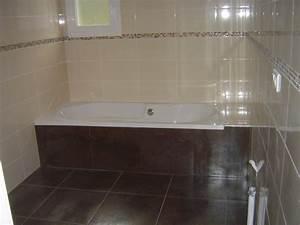 faience salle de bain chocolat beige lertloycom With faience beige salle de bain