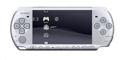 Playstation Portable Console by Psp 3000 Playstation Portable Console Mystic Silver