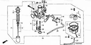 Honda Atv 2003 Oem Parts Diagram For Carburetor