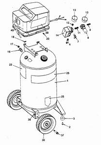 919 166440 Craftsman Permanently Lubricated Tank Mounted