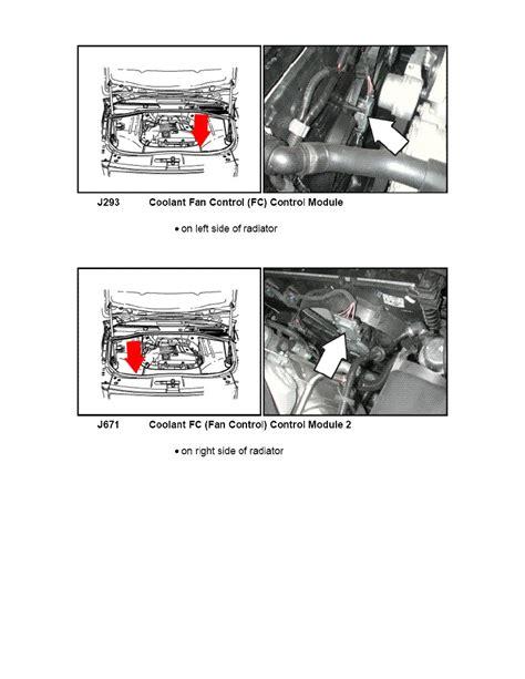2008 land rover lr2 fan radiator fan control module radiator free engine image