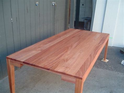 hand crafted suzannes  foot long african mahogany dining