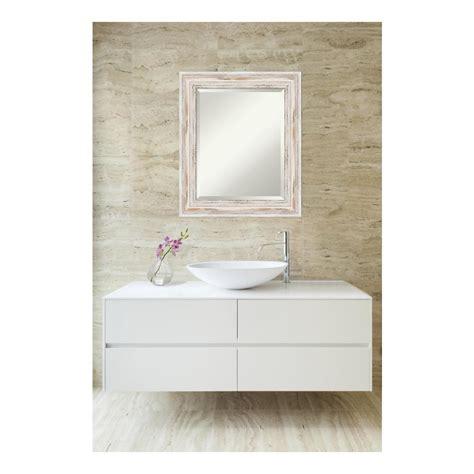 amanti art alexandria white wash wood