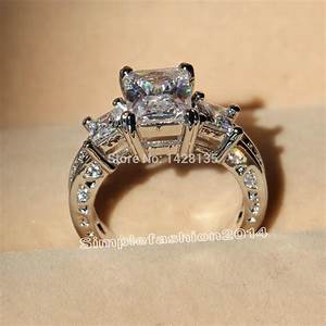 victoria wieck deluxe engagement 10kt white gold filled With diamond free wedding rings