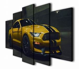 Ford Mustang Gt350 – Automative 5 Panel Canvas Art Wall Decor – Canvas Storm