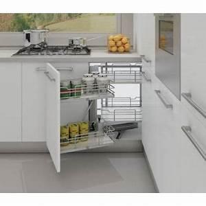 amenagement meuble cuisine d39angle accessoires de cuisine With accessoire meuble d angle cuisine