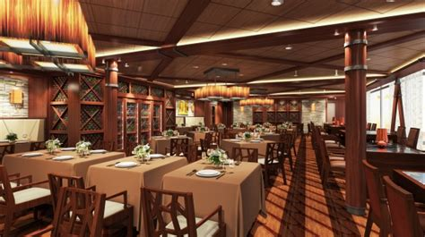"""Quantum Of The Seas  """"dynamic Dining"""" Debuts"""