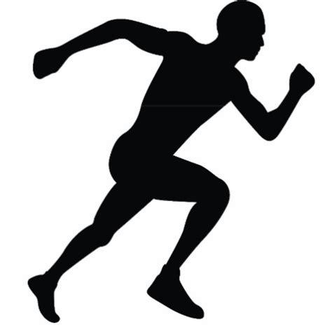 Code Promo Pour Mon Bureau - ombre de silhouette de coureur photo en découpe zazzle
