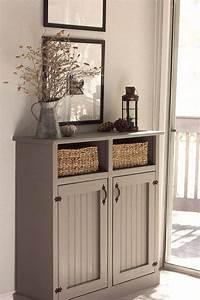 25 best ideas about hallway cabinet on pinterest With kitchen cabinets lowes with foyer wall art