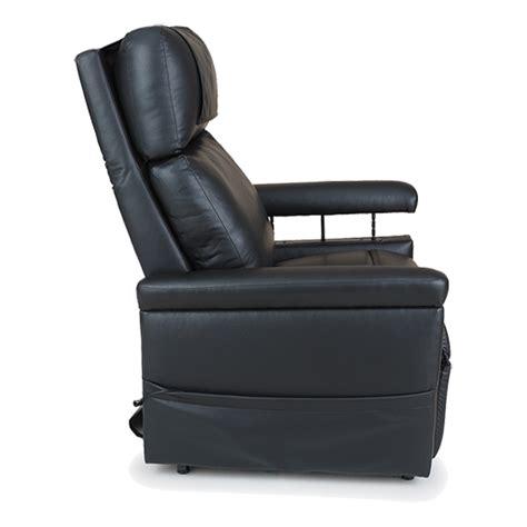 fauteuil 233 lectrique 2 moteurs cuir noir adapt 233 aux grandes