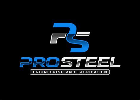 logo design  pro steel engineering  fabrication