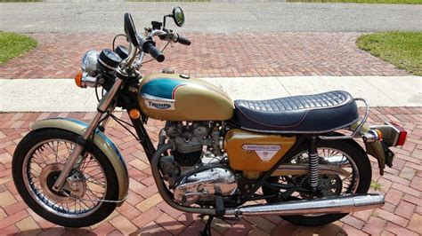 Triumph Bonneville T140 Motorcycles For Sale In Florida