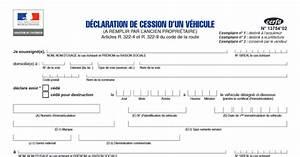 Certificat De Cession Prefecture Courrier : d claration de cession de v hicule en pdf t l charger ici ~ Medecine-chirurgie-esthetiques.com Avis de Voitures